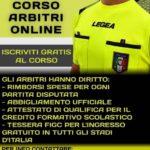 Sport. L'associazione Italiani Arbitri sez. Agrigento ha istituito un corso online per diventare arbitri di calcio.