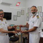 Il Capo del Terzo Reparto del Comando Generale in visita alla Capitaneria di Porto Empedocle