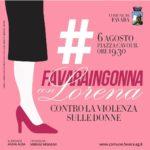 """"""" Favaraingonna"""" domani sera in piazza Cavour si ricorderà Lorena Quaranta e tutte le donne vittime di violenze."""