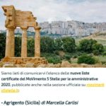 "Politica. Michele Sodano (M5S): ""Il Movimento 5 Stelle ha scelto Marcella Carlisi come candidata a Sindaco di Agrigento"""