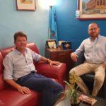 """Marco Zambuto """"Un confronto più che proficuo con il segretario provinciale della Uil Gero Acquisto"""""""