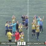 Vittoria del Pro Favara per 3-1 contro il Canicattì