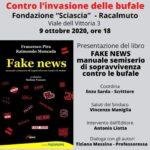 """Cultura. Oggi pomeriggio alla Fondazione Sciascia, la presentazione del libro """"Fake News"""" di Pira e Moncada"""