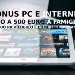 Voucher per l'acquisto di PC o tablet e servizi in banda ultra-larga per le famiglie siciliane a basso reddito