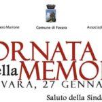 """""""Giornata della Memoria"""" 2021 a Favara"""