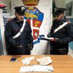 Ribera: i Carabinieri della locale Tenenza arrestano in flagranza di reato un 35 riberese per detenzione ai fini di spaccio.