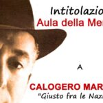 Diretta streaming l'intitolazione Aula a Calogero Marrone. I ringraziamenti dell'Istituto Marrone e Anpi