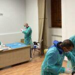 """Somministrati dose del vaccino """"AstraZeneca"""" ai primi 100 militari dell'Arma del Comando Provinciale di Agrigento"""