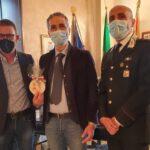 Saluti di commiato del Vice Questore della P.S., dr. Cesare Castelli, alla Comunità canicattinese per il tramite del Sindaco Di Ventura.