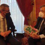 Comune di Canicattì. Olio della Legalità: Visite istituzionali, ieri, al sindaco di Palermo