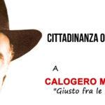 """Favara. Conferito la cittadinanza onoraria a Calogero Marrone""""Giusto tra le Nazioni""""."""