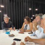 Conferenza stampa dell'Amministrazione Attiva di Favara sulla nascita della SpA multiservizi