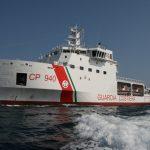 Individuato il barchino capovolto durante un'attività di soccorso il 30 giugno scorso al largo di Lampedusa.
